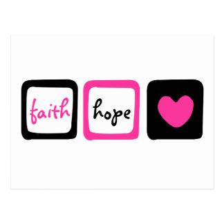 13:13 de los Corinthians del corazón 1 del amor de Postales