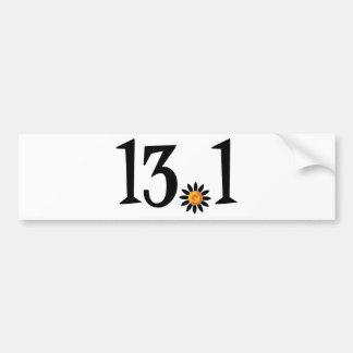 13.1 bumper sticker car bumper sticker