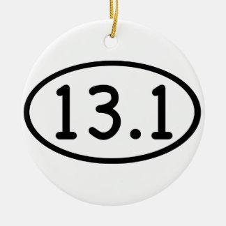 13,1 ADORNO REDONDO DE CERÁMICA