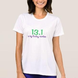 13,1, es mi número afortunado t shirt