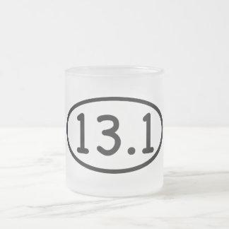 13.1 FROSTED GLASS COFFEE MUG
