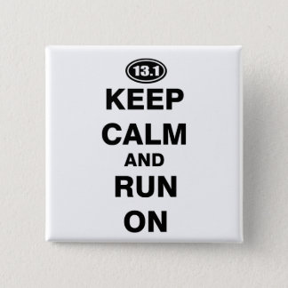 13.1 Half Marathon Button