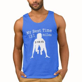 13.1  Half-Marathon Custom My Best Time T-shirt
