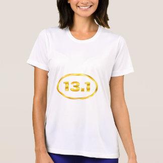 13.1 Half Marathon Gold Oval Shirts