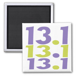 13.1 half marathon magnet