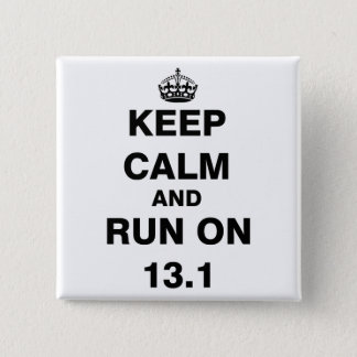 13.1 Half Marathon Pinback Button