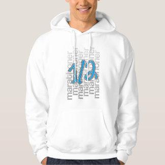 13.1 half marathoner hoodie