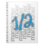13.1 half marathoner notebooks