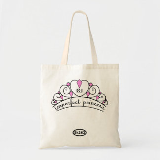 13.1 Imperfect Princess (pink) Canvas Bags