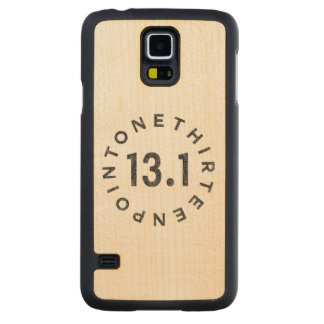 """""""13.1"""" Maple Wood Samsung Galaxy S5 Case Carved® Maple Galaxy S5 Case"""