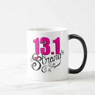 13,1 Media taza de café fuerte del maratón