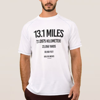 13-1 Mile Measurements -  .png T-Shirt