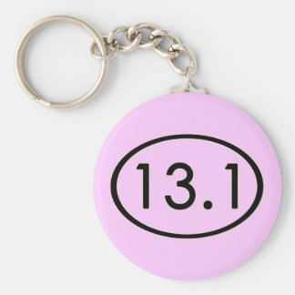 13.1 Miles Keychain