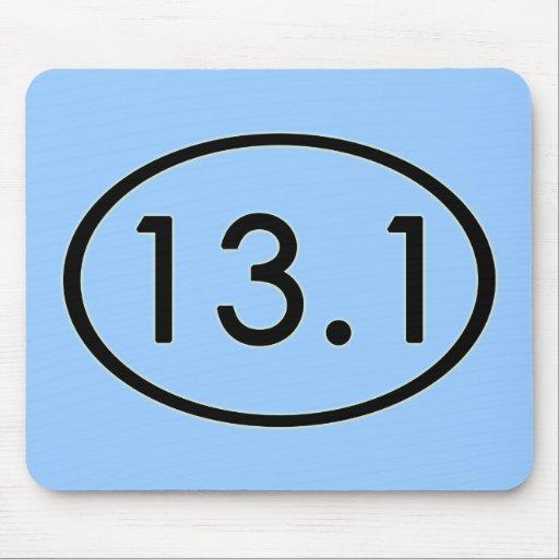 13.1 Miles Mousepad