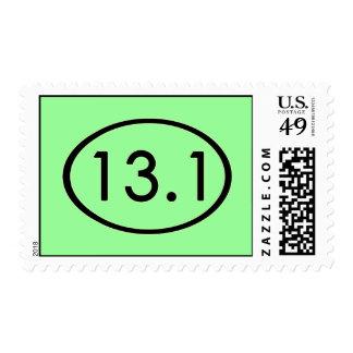 13.1 Miles Postage Stamp