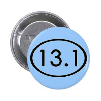 13,1 millas de botón