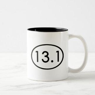 13,1 millas de taza