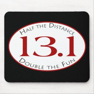 13,1 - Mitad de la distancia Tapetes De Raton