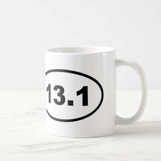 13.1 oval coffee mug
