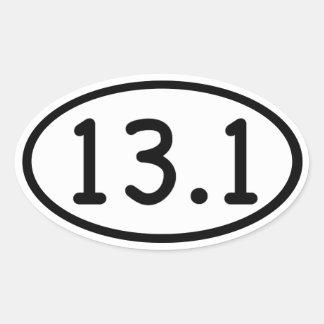 13,1 PEGATINAS DE OVAL PERSONALIZADAS