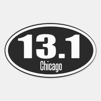 13,1 Pegatina de Chicago