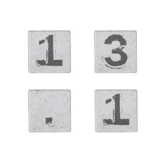13,1 Regalo determinado del corredor de maratón Imán De Piedra