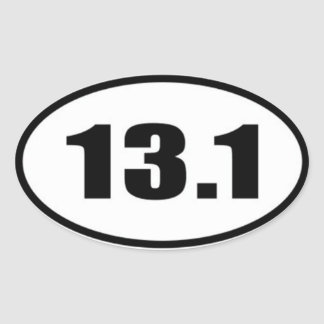 13.1 Sticker Black Text on White Background