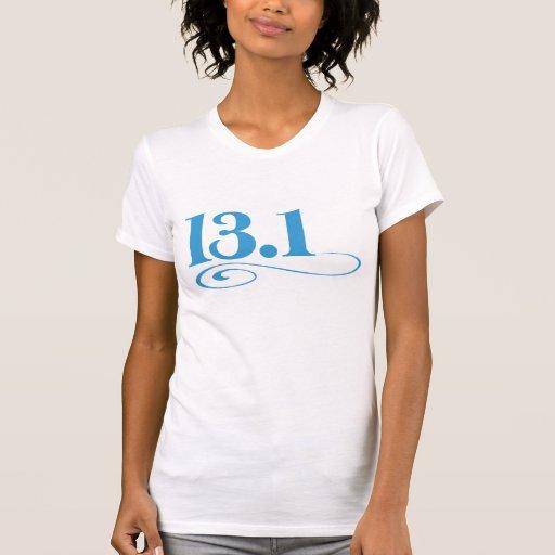 13.1 swirl t-shirts