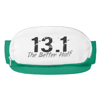 13.1 The Better Half - Half Marathon Runner Visor