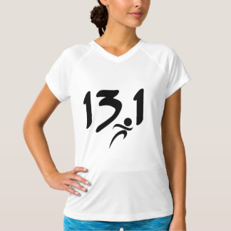 13.1 Women's Dry-Fit half marathon shirt