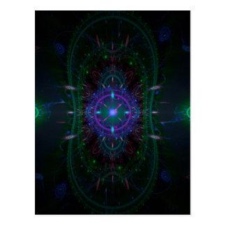 13.38 fractal image postcard