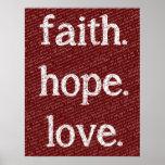 13:4 de los Corinthians del amor 1 de la esperanza Impresiones