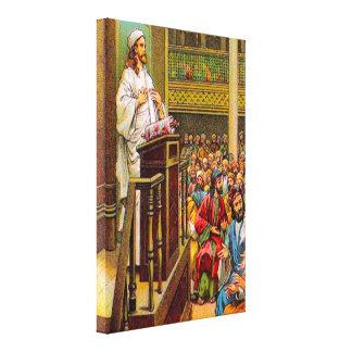 13:53 de Matthew - 58 enseña en la lona de la Lona Envuelta Para Galerías