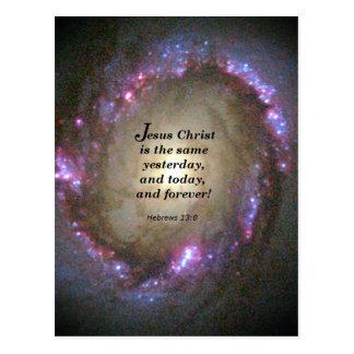 13:8 de los hebreos postal