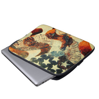 "13"" American Flag and Eagle Sleeve (Faded Look)"