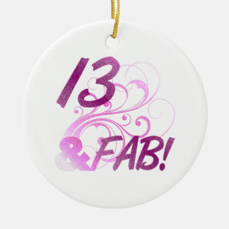 13 And Fabulous Birthday Christmas Ornaments