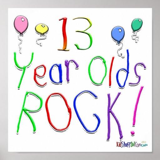 ¡13 años de la roca! impresiones