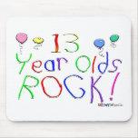 ¡13 años de la roca! Mousepad Alfombrilla De Ratones