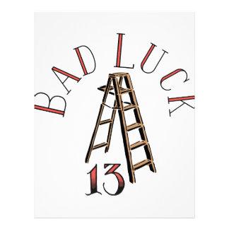 13 Bad Luck Letterhead
