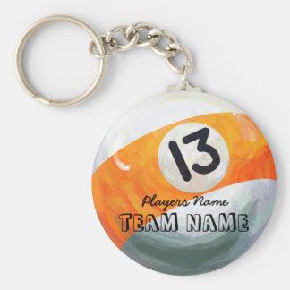 13 Ball Keychain