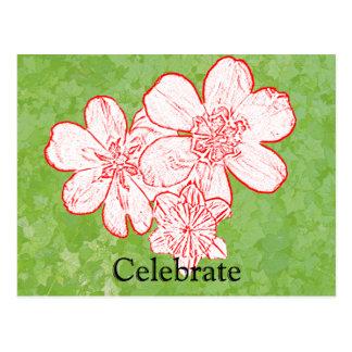 13 Celebrate Postcard