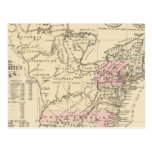 13 colonies 1776 postcard