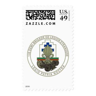 13 DBLE Francais Stamp