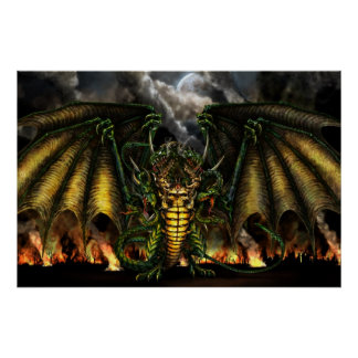 13 Dragons Poster