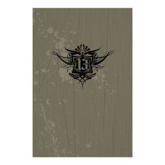 13 Gothic Tattoo Poster