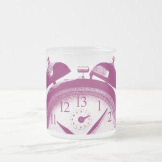 13 horas de rojo taza de cristal