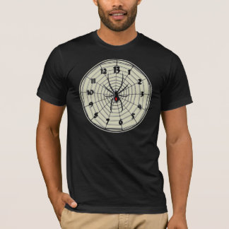 13 Hour Black Widow Clock in Frame T-Shirt
