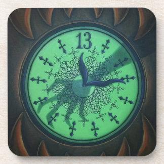 13 Hour Clock Coaster Set of 6