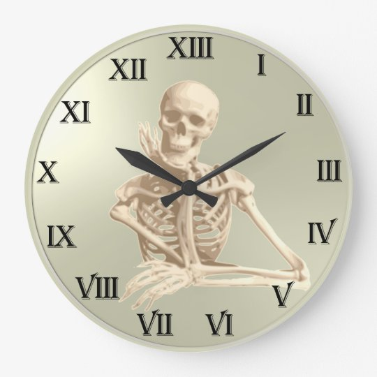 13 Hour Clock Friendly Skeleton Zazzle Com
