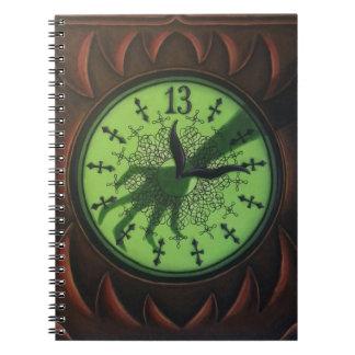 13 Hour Clock Notebook